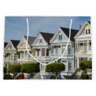 Alamo Square Victorian Houses in San Francisco Large Gift Bag