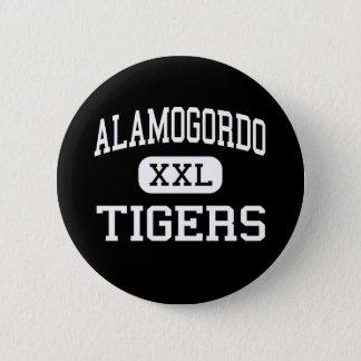 Alamogordo - Tigers - High - Alamogordo New Mexico 6 Cm Round Badge