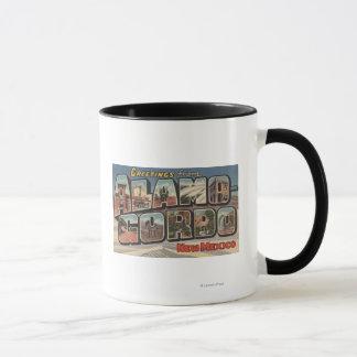 Alamongordo, New Mexico - Large Letter Scenes Mug