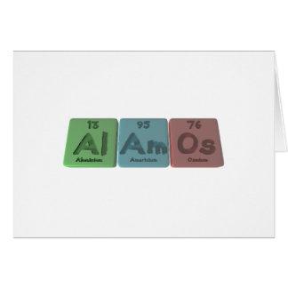 Alamos-Al-Am-Os-Aluminium-Americium-Osmium Card