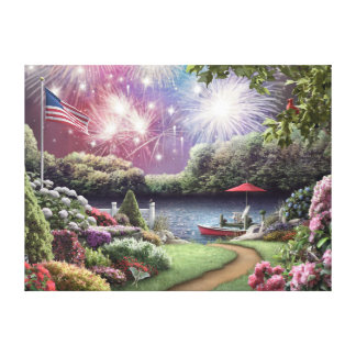 "Alan Giana ""A Peaceful Celebration"" Canvas Print"