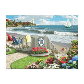 """Alan Giana """"Beach Days"""" Canvas Print"""