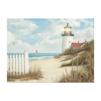 """Alan Giana """"By the Peaceful Shore"""" Canvas Print"""