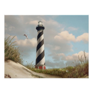 "Alan Giana ""Cape Hatteras Light"" Poster"