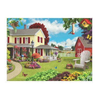 "Alan Giana ""Country Home"" Canvas Print"