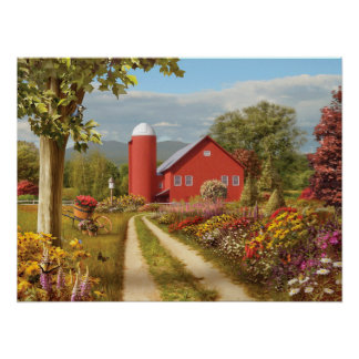 "Alan Giana ""Countryside Afternoon"" Poster"