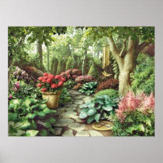 """Alan Giana """"Dragonfly Garden"""" Poster"""