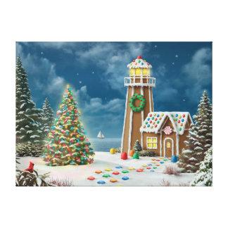 "Alan Giana ""Gingerbread Light 2"" Canvas Print"