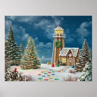 """Alan Giana """"Gingerbread Light 2"""" Poster"""