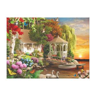"Alan Giana ""Heaven on Earth"" Canvas Print"