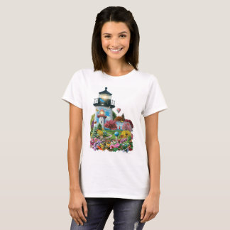 "Alan Giana ""Lighthouse Garden"" T-Shirts and More"