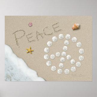 """Alan Giana """"Peace Sign"""" Poster"""