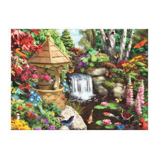 "Alan Giana ""Secret Garden"" Canvas Print"