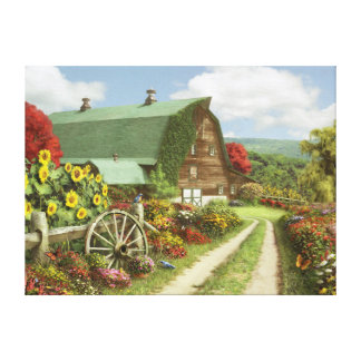 "Alan Giana ""Silence of the Valley"" Canvas Print"