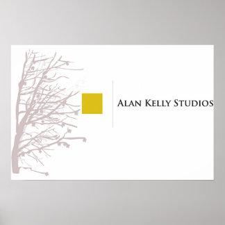 Alan Kelly Studios Poster