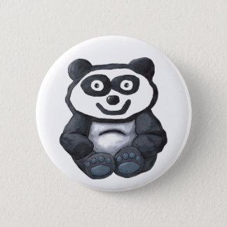 Alan Panda 6 Cm Round Badge