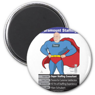 Alan Schubert 6 Cm Round Magnet