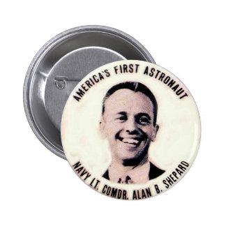 Alan Shepard - Button