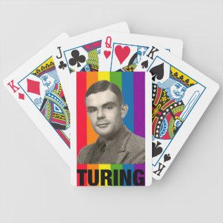 Alan Turing Bicycle Playing Cards
