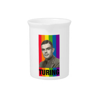 Alan Turing Pitcher