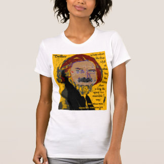 Alan Watts - Better to have a short Life... T-Shirt