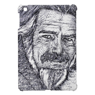 ALAN WATTS - ink portrait iPad Mini Covers