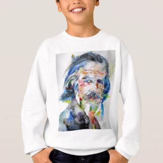 alan watts - watercolor portrait.3 sweatshirt