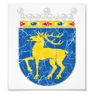 Aland Coat Of Arms Photo Print