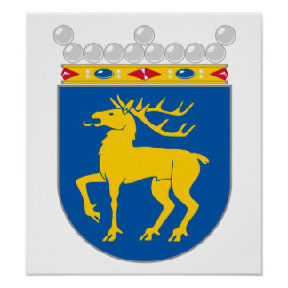 Aland Coat Of Arms Posters
