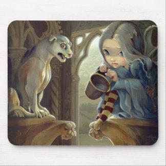 """""""Alannah and the Gargoyle"""" Mousepad"""