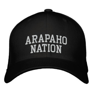 Alapaho Nation Embroidered Hats