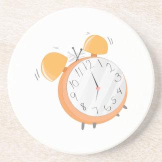 Alarm Clock Drink Coaster