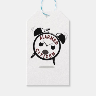 ALARMED CITIZEN GIFT TAGS