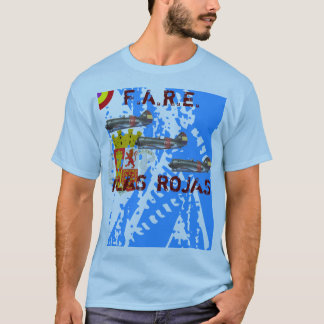 ALAS, ROJAS Spanish Republican Air Force T-Shirt