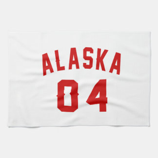 Alaska 04 Birthday Designs Towels
