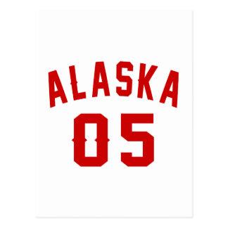 Alaska 05 Birthday Designs Postcard