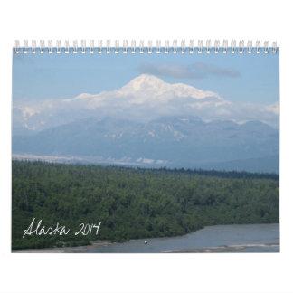 Alaska 2014 calendars
