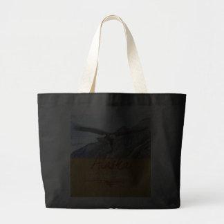 Alaska 2 Dark Jumbo Tote Canvas Bags