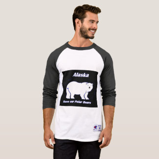 Alaska 2 Save our polar bears T-Shirt