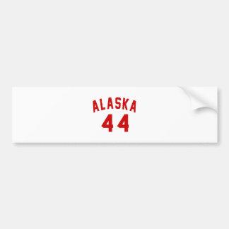 Alaska 44 Birthday Designs Bumper Sticker