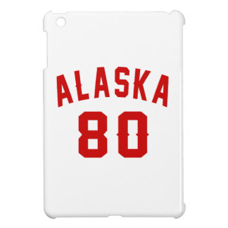 Alaska 80 Birthday Designs iPad Mini Case