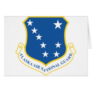 Alaska Air National Guard Greeting Card