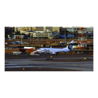 Alaska Airlines Photo Greeting Card