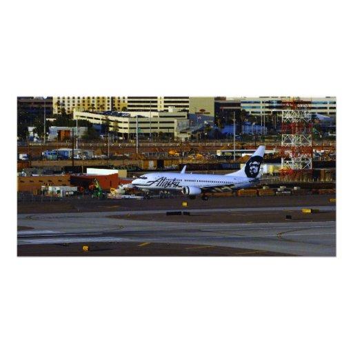 Alaska Airlines Photo Greeting Card