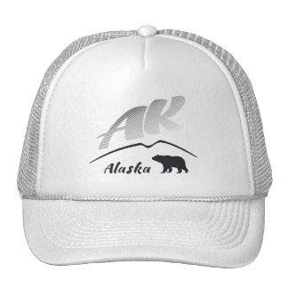Alaska (AK) Kodiak brown bear - Black Logo Cap