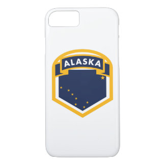 Alaska AK State Flag Crest iPhone 8/7 Case