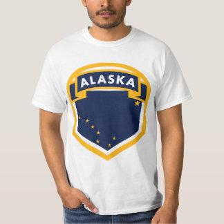 Alaska AK State Flag Crest T-Shirt