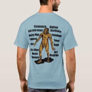 Alaska Bigfoot in Sky T-Shirt