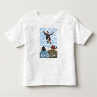 Alaska Blanket Toss - Barrow, Alaska Toddler T-Shirt