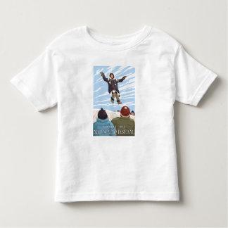 Alaska Blanket Toss - Nalukataq Festival, Toddler T-Shirt